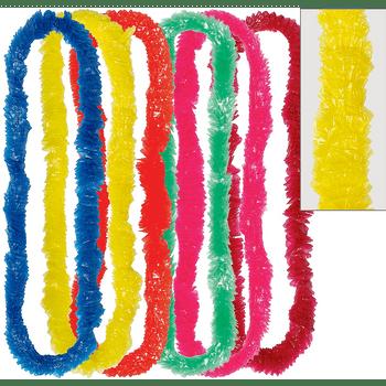 Collares Hawaianos de Colores, 25 piezas
