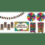 Decoracion-Cumpleaños-Tiki-10-Unidades