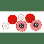 Decoraciones-De-Papel-Picnic-6-Unidades