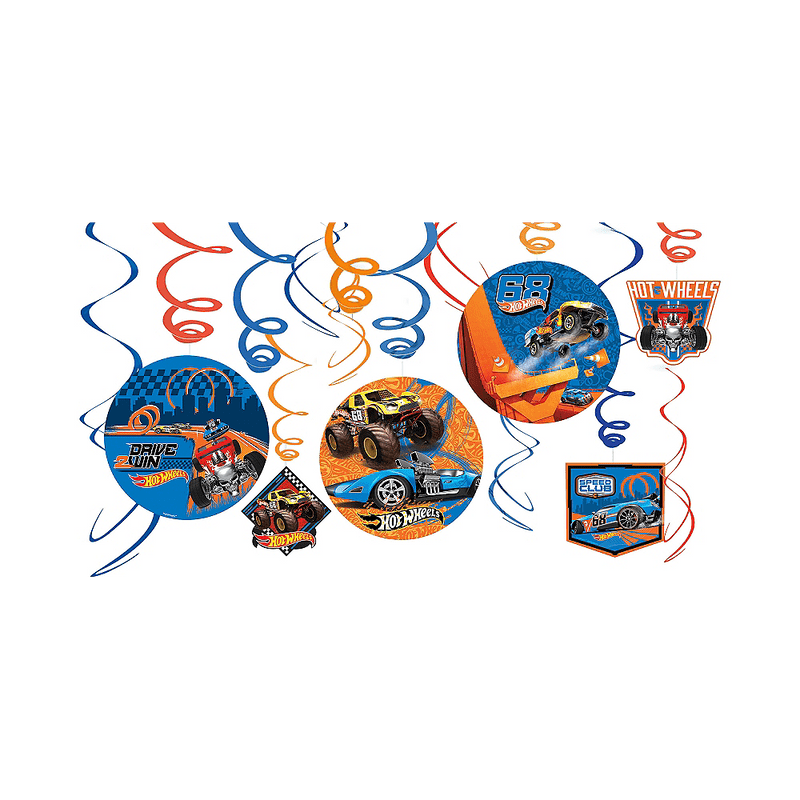 Decoraciones-Serpentinas-Hot-Wheels
