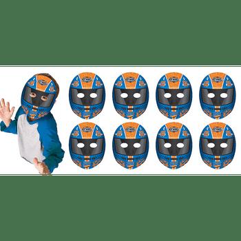 Máscaras de Papel Hot Wheels, 8 piezas