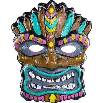 Máscara Tiki Tropical