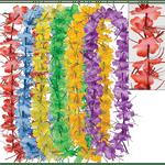 Paquete-Collares-Flores-Oropel-Multicolor-6-Unidades