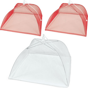 Paquete Cubre/Platos Picnic, 3 Unidades