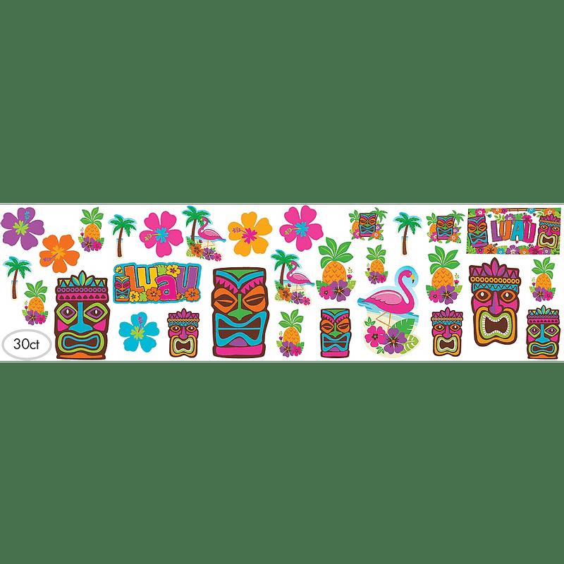 Paquete-Recortes-Tropical-Tiki-30-Unidades