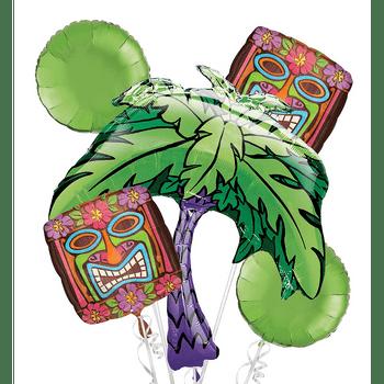 Bouquet de Globos Tiki, 5 piezas