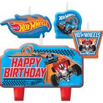 Set-Velas-Cumpleaños-Hot-Wheels-4-Unidades
