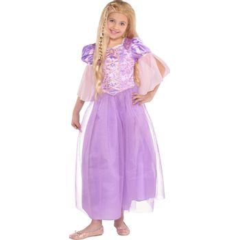 Disfraz de Rapunzel Clásico para Niña