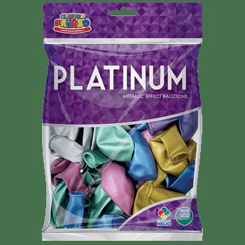 Bolsa con 25 Globos Platinum No. 11 Surtido