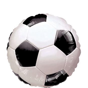 Globo Metálico Balón de Fútbol, 18 Pulgadas