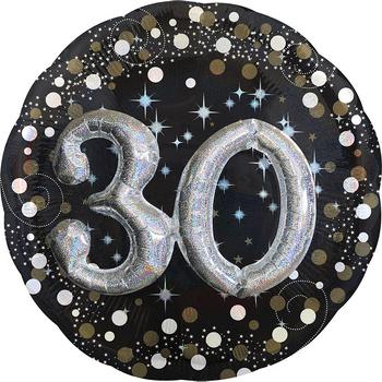 Globo Metálico 3D Cumpleaños de 36 Pulgadas