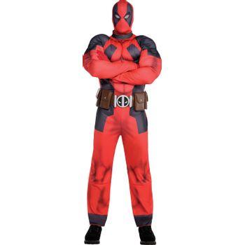 Disfraz de Deadpool Musculoso para Hombre