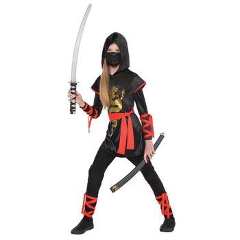 Disfraz de Ninja Dragón para Niña