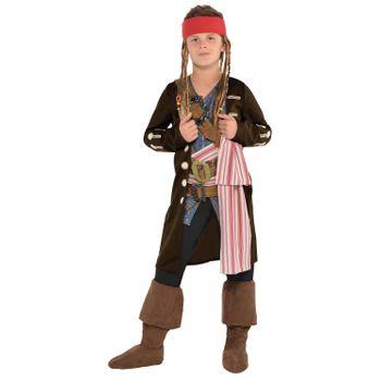 Disfraz de Jack Sparrow para Niño - Piratas del Caribe