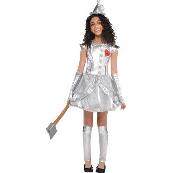 Disfraz Hombre de Hojalata para Niña - El Mago de Oz