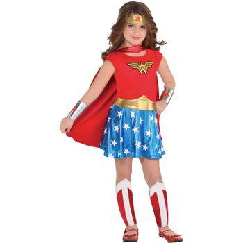 Disfraz de Mujer Maravilla para Niña - DC Comics