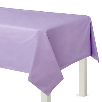 Mantel de Plástico Rectangular de 137 x 274 cm