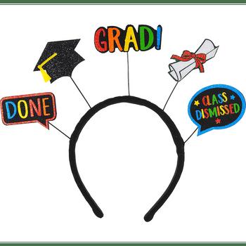 Diadema con Decoraciones de Graduación