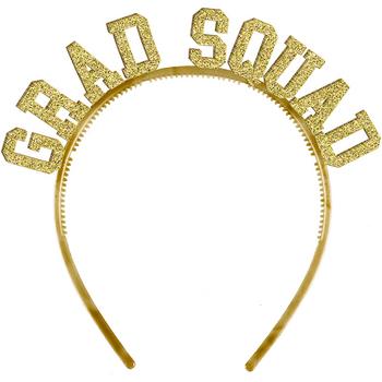 Diademas Doradas Grad Squad, 6 piezas