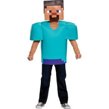 Disfraz de Steve para Niño - Minecraft