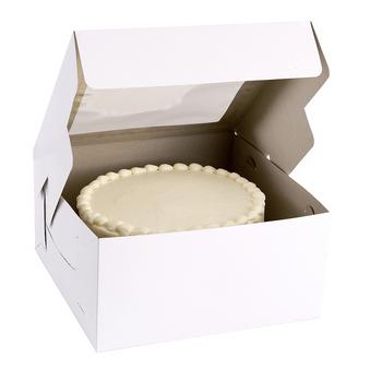 Caja para Pastel con Ventana Transparente