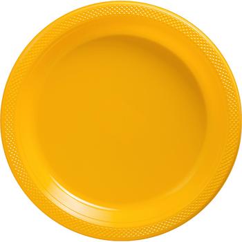 Platos de Plástico de 10.25 Pulgadas, 20 piezas