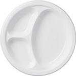 Platos-de-Plastico-con-Divisiones---10.25-Pulgadas-20-piezas