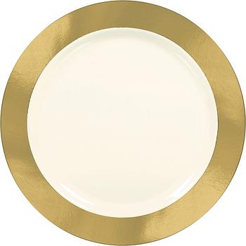 Platos de Plástico Premium de 10.25 Pulgadas, 10 piezas