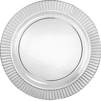 Platos de Plástico Premium de 10.25 Pulgadas, 16 piezas