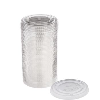 Tapas de Plástico para Vasos de 473 ml, 50 piezas