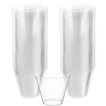 Vasos de Plástico 266 ml, 72 piezas