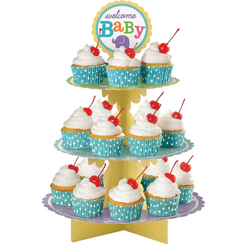Base para Cupcakes de Baby Shower
