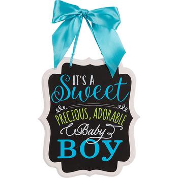 Letrero para Baby Shower It's a Boy