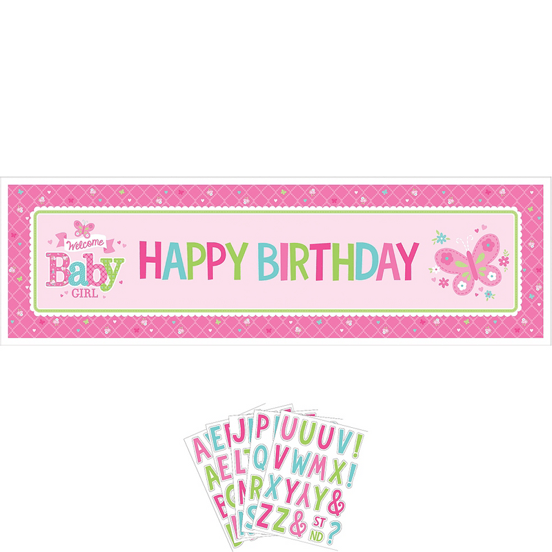 Banner-Personalizable-para-Baby-Shower-Welcome-Baby-Girl
