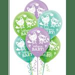 Globos-de-Latex-Welcome-Baby-15-piezas