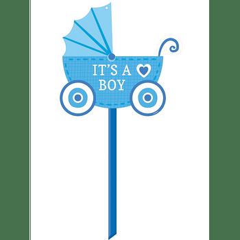 Letrero para Jardín Carreola It's a Boy