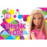 Tarjetas-de-Agradecimiento-Barbie-8-piezas
