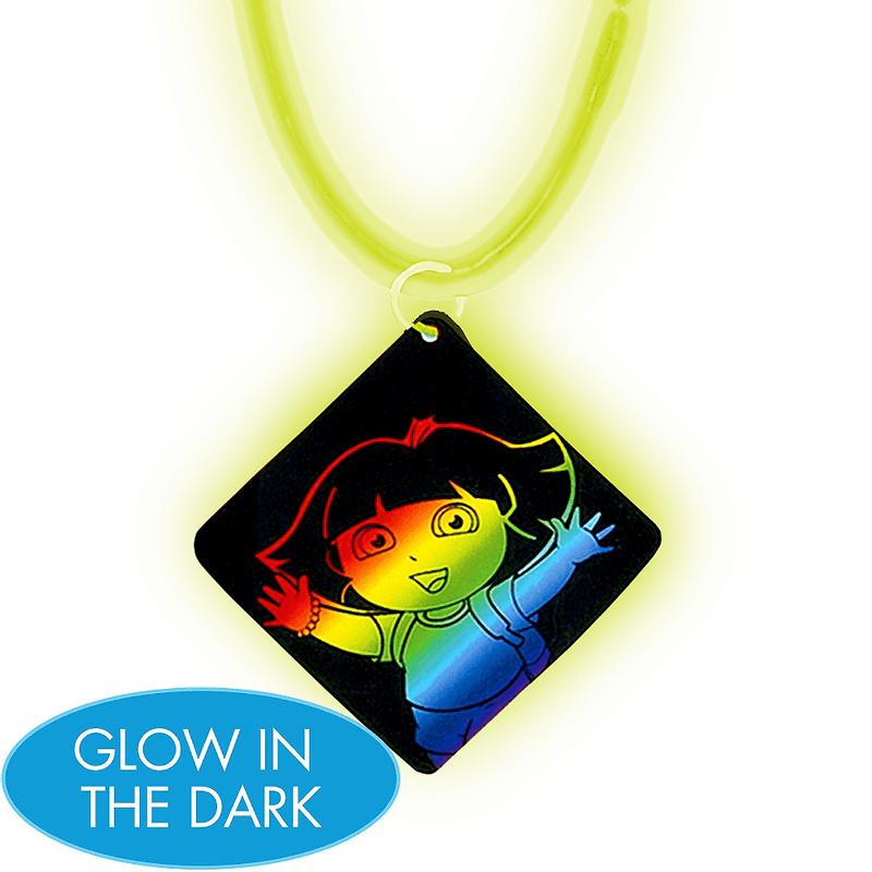 Collar-que-Brilla-en-la-Oscuridad-Dora-la-Exploradora