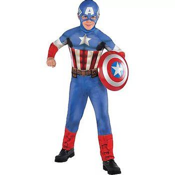 Disfraz de Capitán América Clásico para Niño