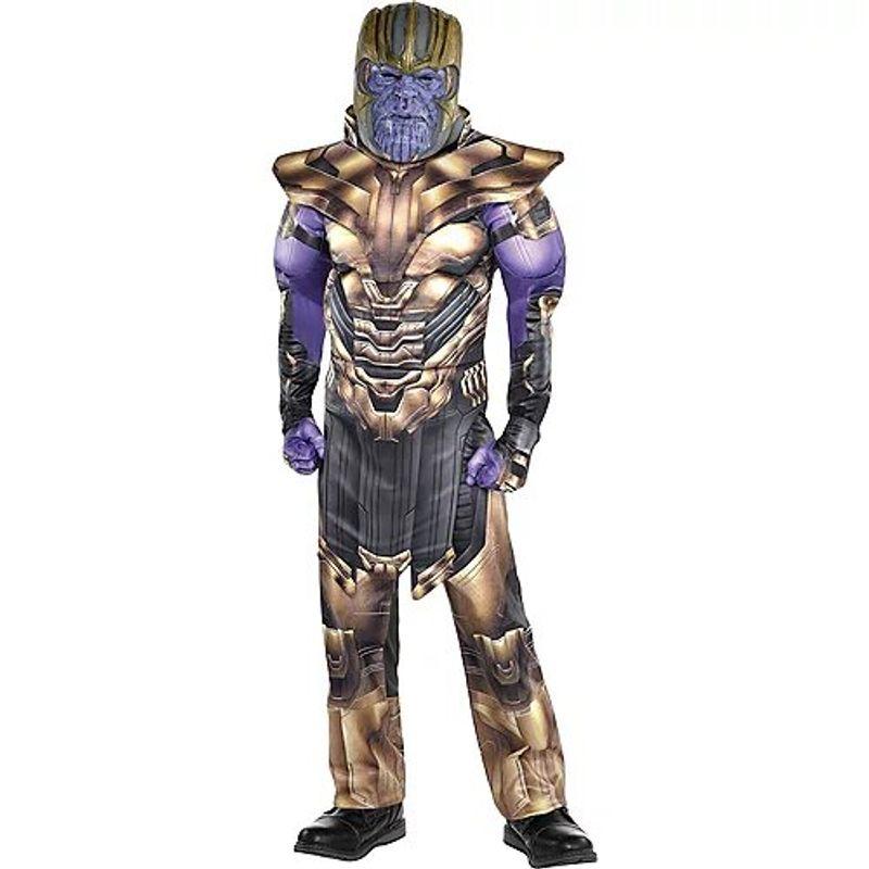Disfraz-de-Thanos-Musculoso-para-Niño---Avengers-4-Party-City