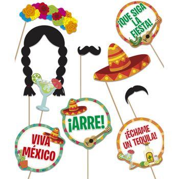 Accesorios para Fotos de Fiestas Patrias, 10 piezas