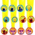 Medallas-Plaza-Sesamo-12-piezas