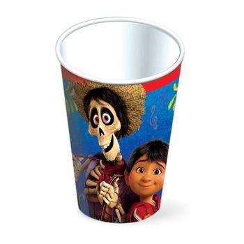 Vasos para Fiesta Coco, 6 piezas
