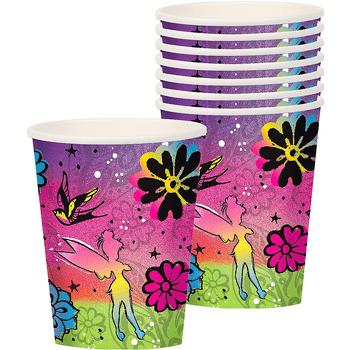 Vasos de Papel Tinker Bell, 8 piezas