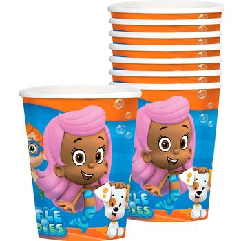 Vasos de Papel Bubble Guppies, 8 piezas