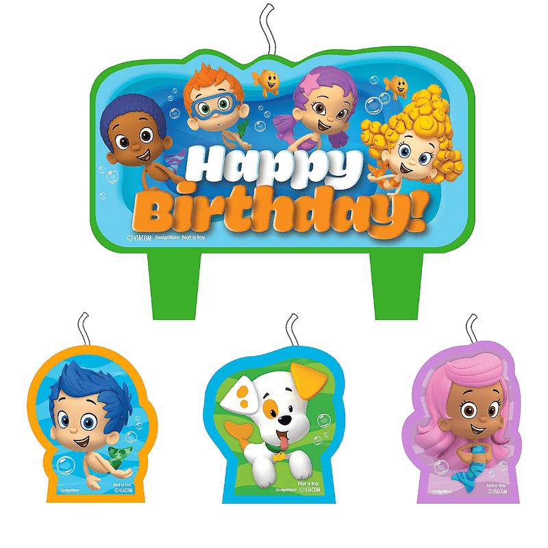Kit-de-Velas-de-Cumpleaños-Bubble-Guppies-4-piezas-Party-City