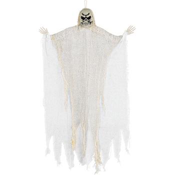 Decoración Colgante Calavera Blanca
