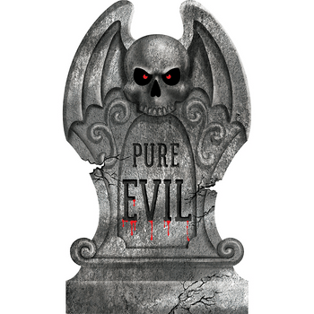 Lápida Pure Evil