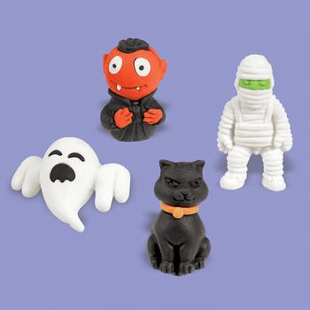 Gomas 3D Halloween, 12 piezas