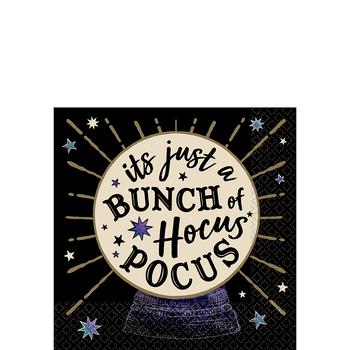 Servilletas para Bebidas Hocus Pocus, 16 piezas